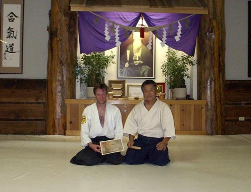 Praticando Aikido