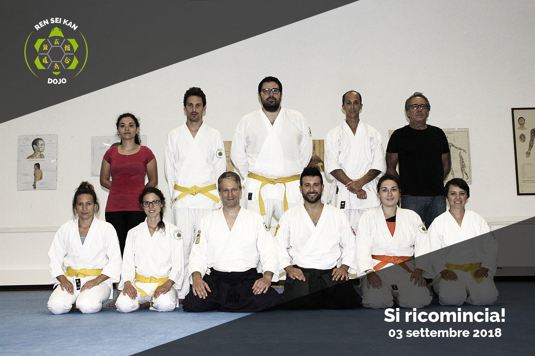 Inizio corsi di aikido Ren Sei Kan